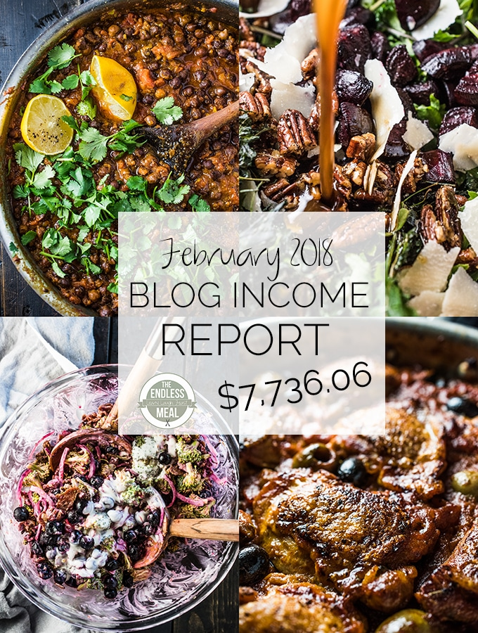 Blog Income Report – February 2018