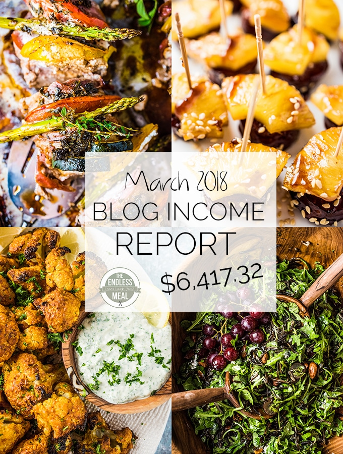 Blog Income Report – March 2018