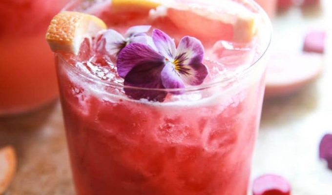 Grapefruit Rhubarb Gin Tonics by Heather Christo | The 15 Best Summer Cocktails