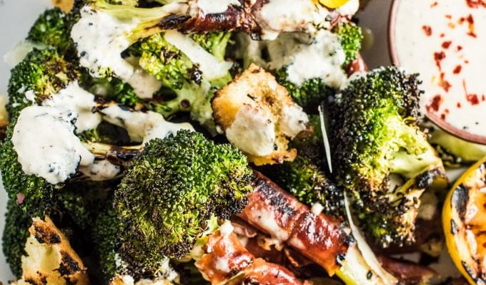 Grilled Broccoli Caesar Salad by The Endless Meal | The 15 Best Healthy Summer Salads
