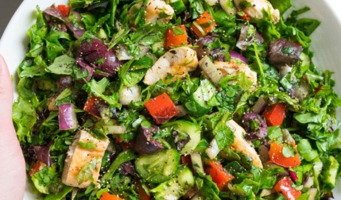 Quick Basic Chopped Salad by Table for Two | The 15 Best Healthy Summer Salads