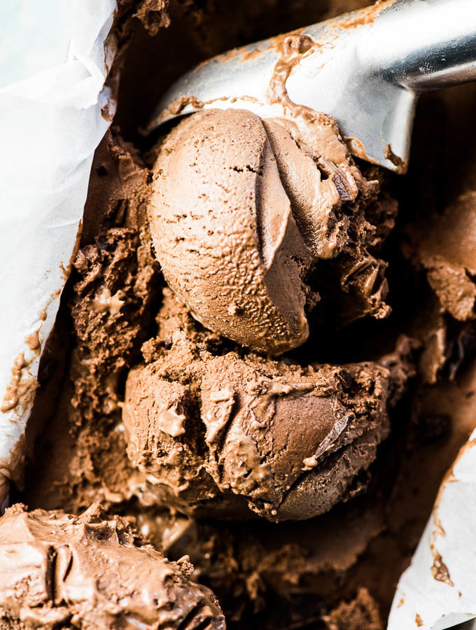 Healthy 3 Ingredient Chocolate Banana Ice Cream