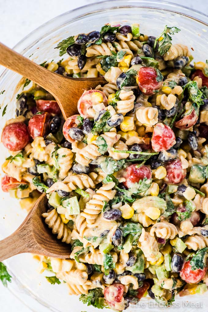 This Mexican Pasta Salad Recipe Is The Best Ever It S Loaded