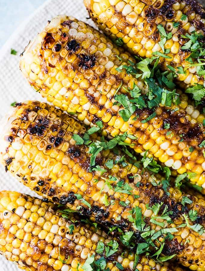 Honey Garlic Corn on the Cob