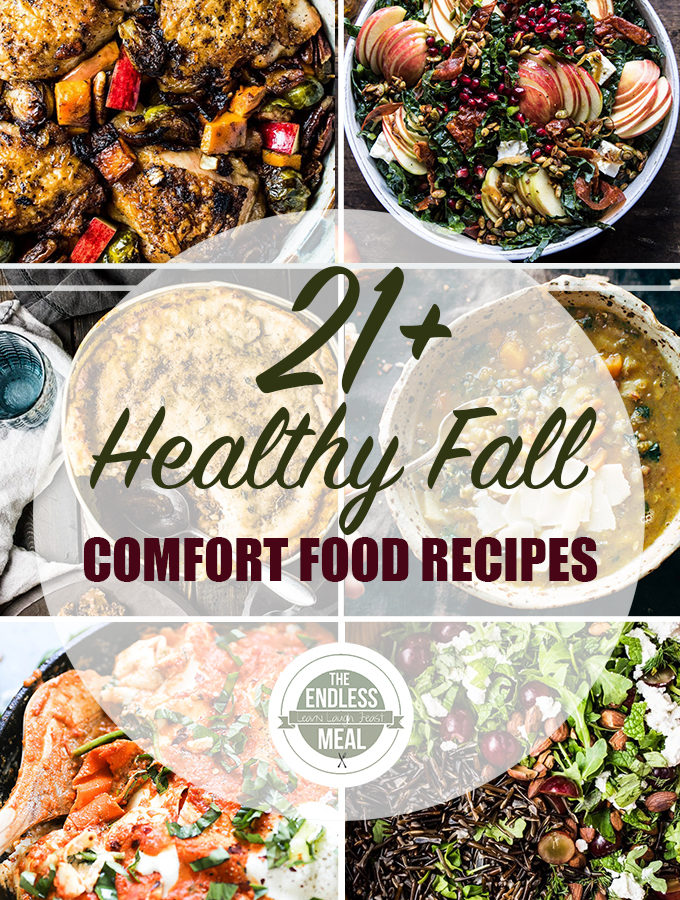 21+ Best Healthy Fall Comfort Food Recipes