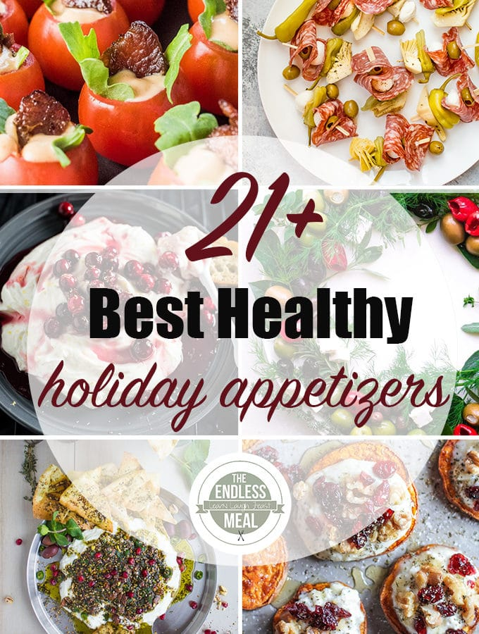 The 21+ Best Healthy Holiday Appetizers