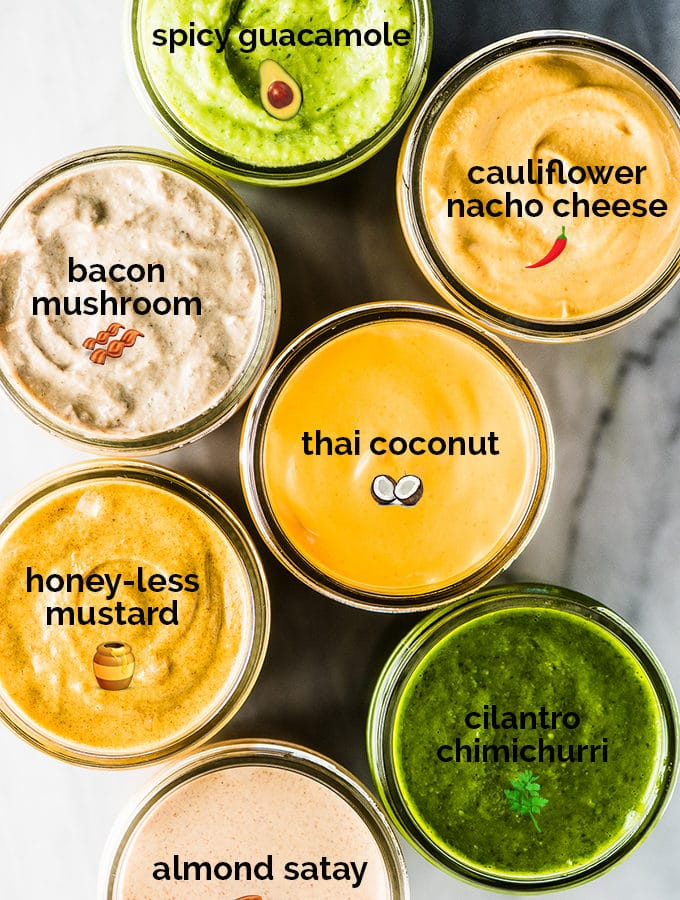 7 Staple Whole30 Sauces (mayo-free/dairy-free)