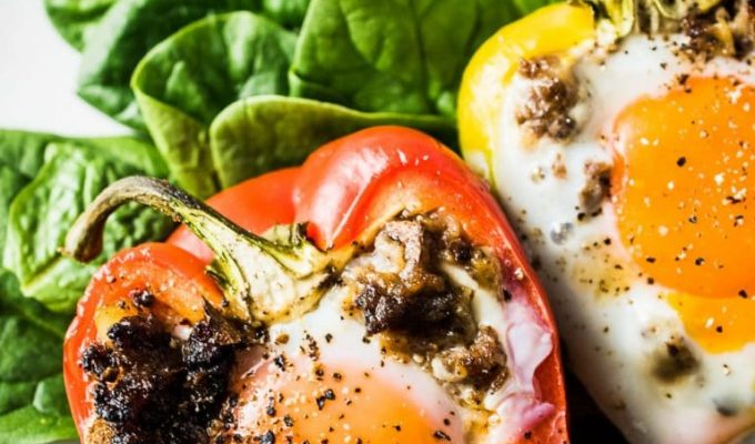 Egg and Sausage Stuffed Peppers by The Endless Meal | 19+ Recipes to Help You Survive Whole30
