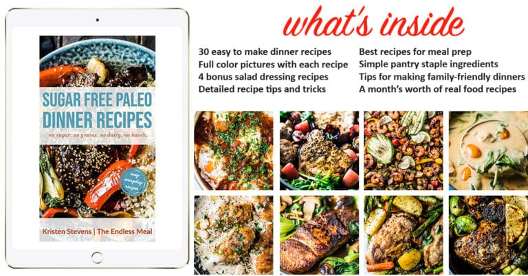 A picture about the Sugar Free Paleo Dinner Recipes.