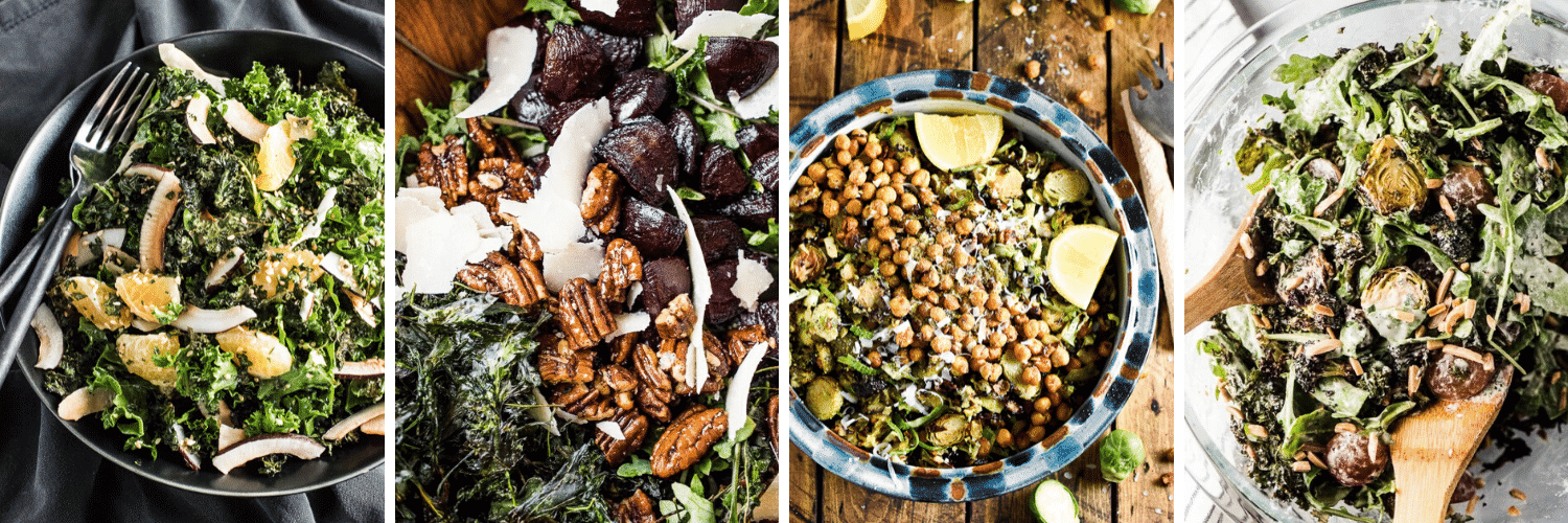 4 salad recipes in our Dinner Menu Planning guide.