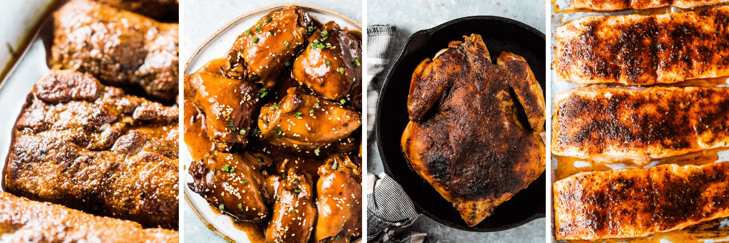 4 protein recipes in in our Dinner Menu Planning guide.